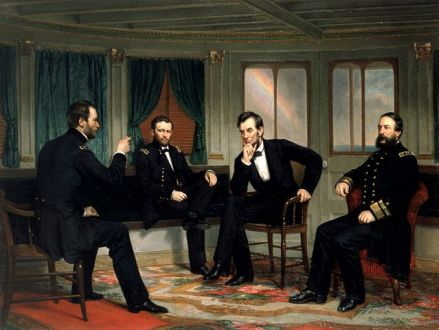 Sherman, Grant, Lincoln and Porter